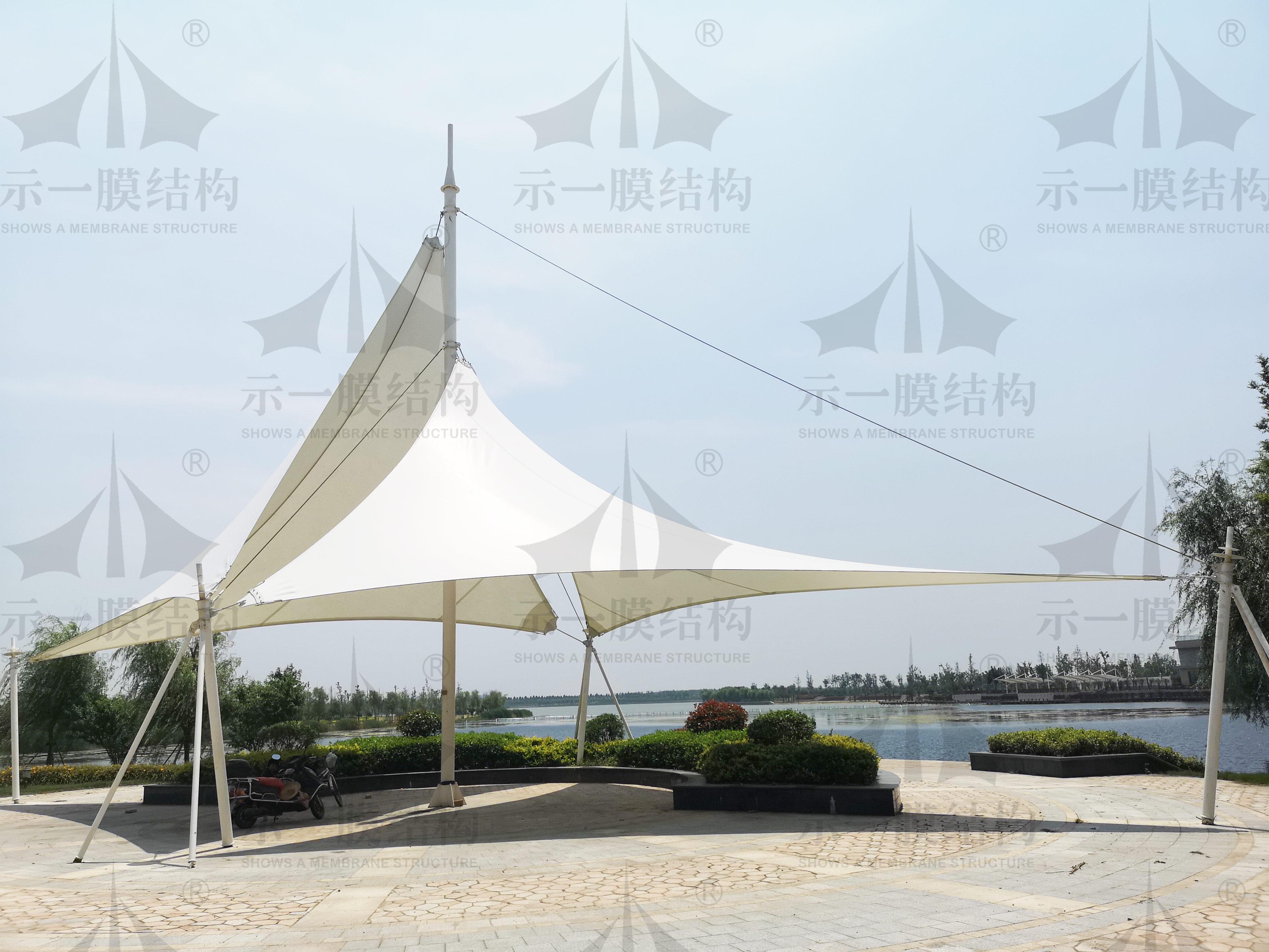 Tension membrane of Haimen Linjiang Industrial Park, Nantong